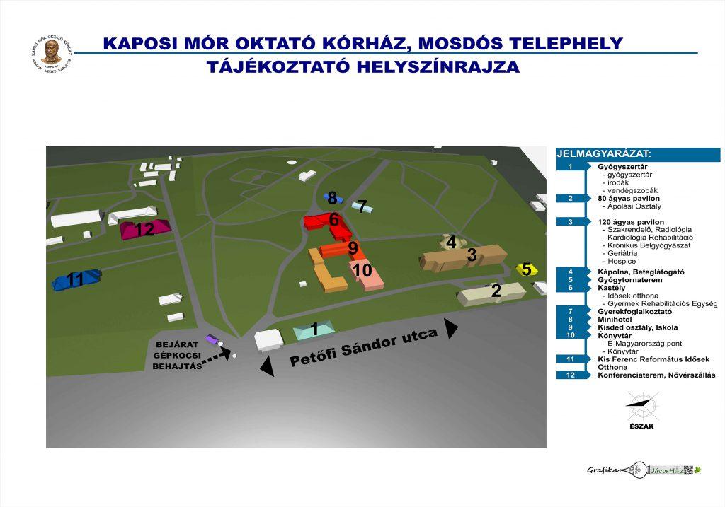 Mosdós telephely térkép